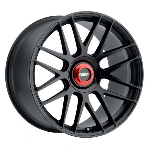 TSW HOCKENHEIM-T DOUBLE BLACK W/BALL MILLED SPOKE